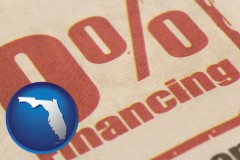 fl a promotional financing rate