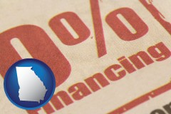 ga a promotional financing rate
